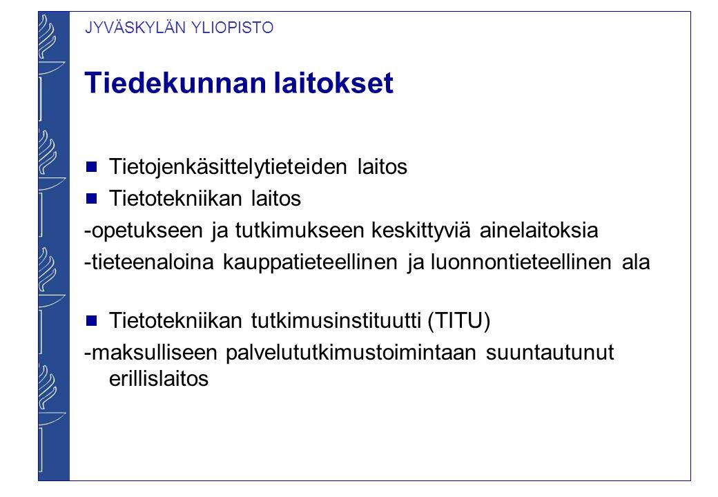 JYVÄSKYLÄN YLIOPISTO Informaatioteknologian tiedekunta Ihmisläheistä ... 4ee4801873